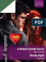 Mills & Boon Romantic Suspense Chapter Sampler