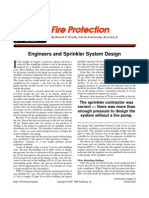 automatic sprinklers