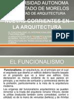 Corrientes de La Arquitectura
