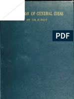 The evolution of general ideas