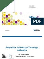 Adquisicion de Datos Por Tecnologia Inalambrica