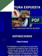 fracturas, clasificación segun Gustillo