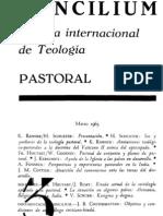 Concilium - Revista Internacional de Teologia - 003 Marzo 1965