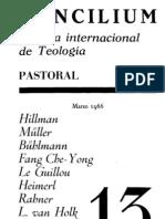 Concilium - Revista Internacional de Teologia - 013 Marzo 1966