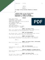 Curtains Script