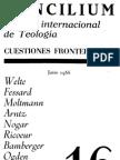 Concilium - Revista Internacional de Teologia - 016 Junio 1966