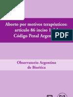 Aborto Por Motivos Terapeuticos