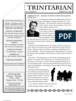 The Trinitarian newsletter Feb 2013