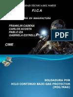 Grupo 1_Soldadura MIG- MAG