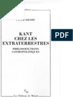 81595179 Szendy Peter Kant Chez Les Extraterrestres OCR