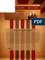 Resume - Brian Crook