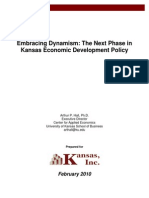 Embracing Dynamism - The Next Phase in Kansas Economic Development Policy