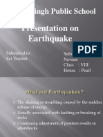 Presentation on Earthquake