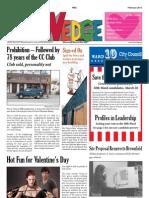 Wedge Neighborhood News February 2013