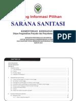 Katalog informasi pilihan sarana sanitasi untuk kegiatan PAM STBM 2012