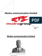 mudra communication