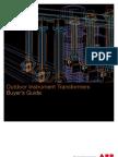 Instrument transformer - Buyers guide