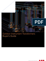 Instrument transformer - Buyers guide