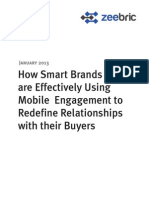 How Smart Brands are Effectively Using Mobile Engagement to Redefine Relationships with the Buyers