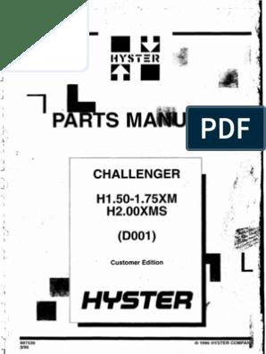 H1 50XM (D001)   Diesel Engine   Screw