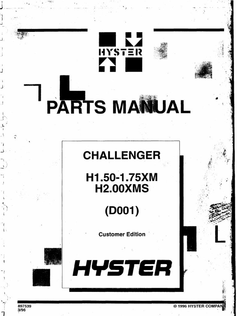 Hyster 280 Solenoid Valve Schematic Wire Center