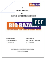 Project On retail marketing