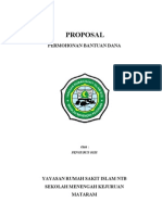 Proposal Permohonan Bantuan Dana