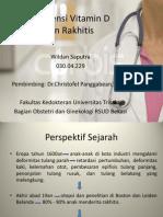 Jurnal Defisiensi Vitamin D Dan Rakhitis Dr. Christofel P Sp.og - Wildan Saputra