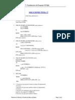 Soluciones Tema 17