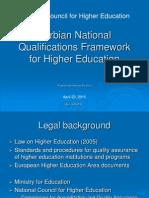 Nacionalni okvir kvalifikacija