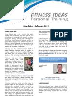 Fitness Ideas Newsletter