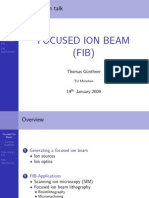 focused ion beam intro