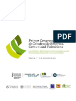 1ª Comunicación Congreso de Cátedras.CV