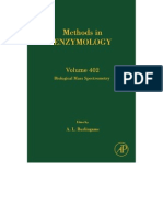 A. L. Burlingame, Steven a. Carr Biological Mass Spectrometry 1996