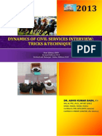 DYNAMICS OF CIVIL SERVICES INTERVIEW