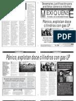 Versión impresa del periódico El mexiquense 31 enero 2013