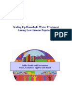 Scaling Up Household Water Treatment Among Low Income Populations