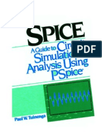 Spice.a.guide.to.Circuit.simulation.and.Analysis[Paul W.T.]