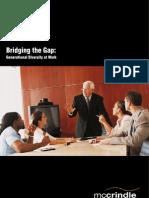 Bridging the Gap - Generational Diversity at Work