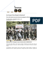 Are Kenyan Police Ready for Elections?