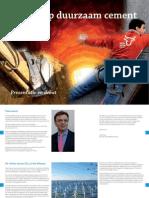 Roadmap duurzaam cement