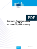 ECONOMIC FORESIGHT STUDY ON RD FOR THE EUROPEAN INDUSTRY