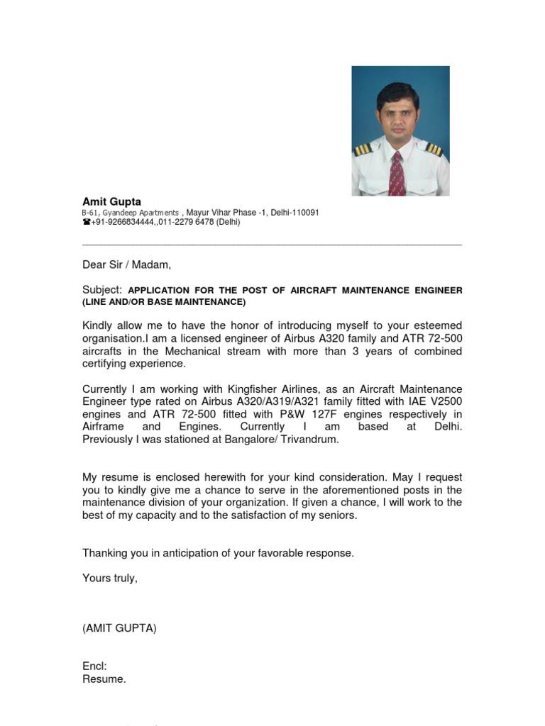 Resume Aircraft Aeronautics
