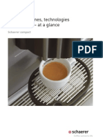 Coffee Machines Technologies and Services at a Glance