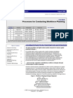 Process for Conducting Workforce Planning from CLC