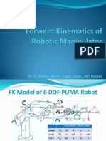 Direct Kinematics of Robotic Manipulator