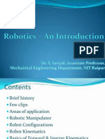 Robotics An Introduction
