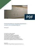Författaridentifikatorer och publiceringsdatabaser