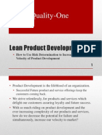 New Product Developpment