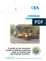 A Guide to the Structural Design of Bitumen Surfaced Roads in Tropical and Sub Tropical Countries ORN 31 TRL
